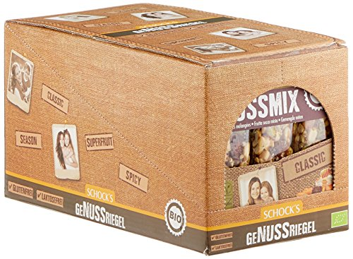 Preisvergleich Produktbild Schock Nussmix-Honig 3er Multipack,  15er Pack (15 x 75 g) - Bio