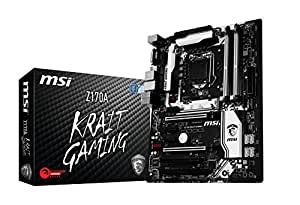 MSI Z170A Krait Gaming DDR4 - LGA1151 - 6th Generation MotherBoard (DDR4 3600+ OC, USB 3.1, Intel Z170 Chipset)