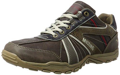 Mustang Herren 4027-316-32 Sneaker, Braun (Dunkelbraun), 43 EU