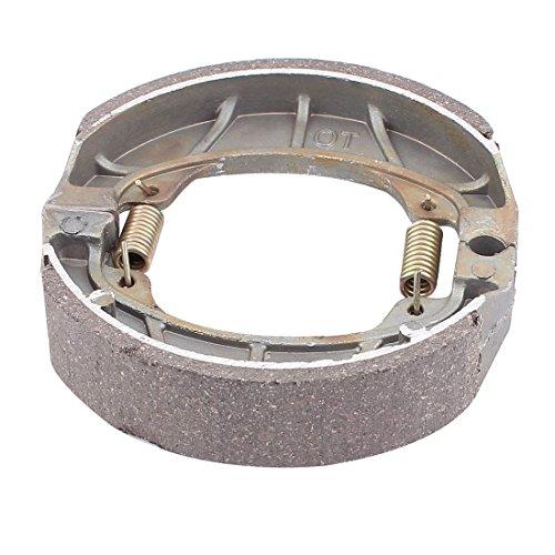 Preisvergleich Produktbild sourcingmap® 105 x 24 mm Metall Feder Bremsbacken Fahrrad Motorrad Drum Pad