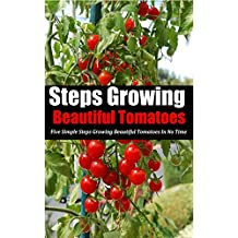 Steps Growing Beautiful Tomatoes: Five Simple Steps Growing Beautiful Tomatoes in No Time (English Edition)