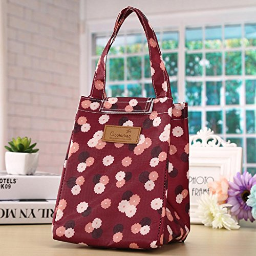 Fashion Portable lunch bag, Sansee termica Cooler lunch box Tote Storage Bag picnic bag H