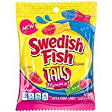 Swedish Fish Assorted Tails Soft & Chewy Candy 141g (5oz)