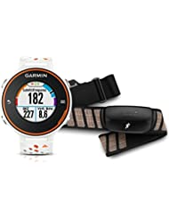Garmin - 010-01128-41 - Forerunner 620 - Montre de Running - Blanc/Orange