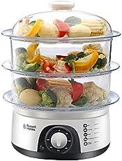 Russell Hobbs England 800-Watts Food Steamer (White)