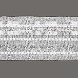 Gardinenband Universal - 50 mm breit - weiß