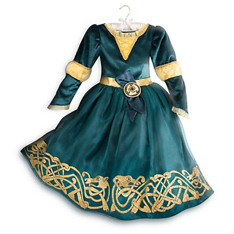 Disney original - Disney Prinzessin Merida - Legende der Highlands - Kostümkleid für Kinder - 4 (Kostüm Merida Disney)