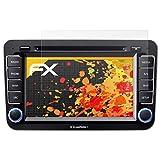 atFoliX Schutzfolie für Blaupunkt Philadelphia 845 Displayschutzfolie - 3 x FX-Antireflex blendfreie Folie