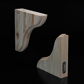 10954-00004= Holzkonsole Taunus 100x235 mm Buche  Element System Winkel Konsole
