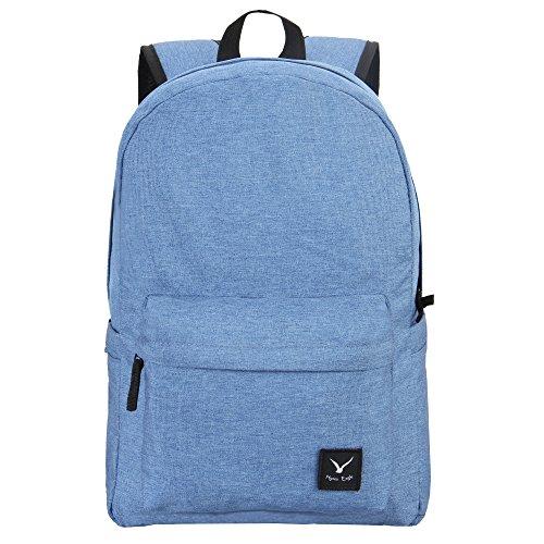Imagen de veevan  escolar de diseño clásico para niños azul