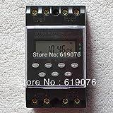 RAISSER® 110V AC : ZTY16G-3A 220VAC 25A Micro-Computer Auto Ringer Digital Bell Program Bell Controller School Bell Programmable Timer Switch