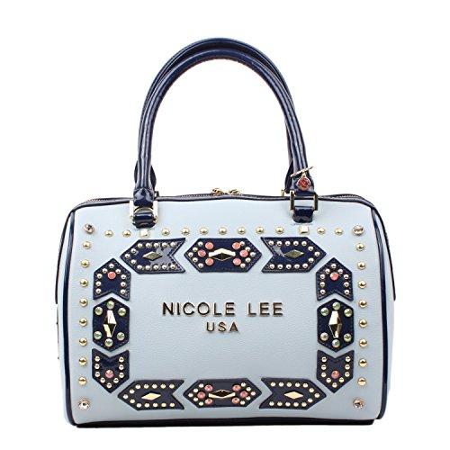 Nicole Lee, Borsa a spalla donna Blue