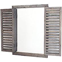 Miroir fenetre for Miroir 50 x 60