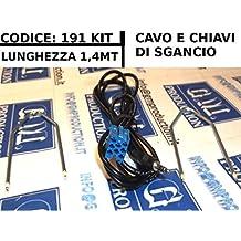 G.M. Production - 191EVO Kit - Cavo Aux dal 2012 Audio IN MP3 iPhone FIAT LANCIA con scritta