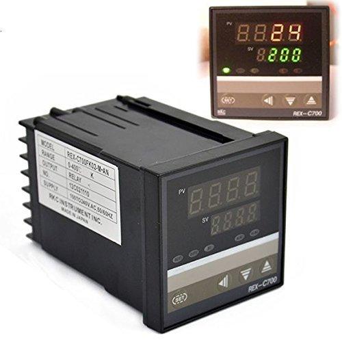 PID Digital Controller 400℃ Thermoelement Temperatur Kontrolle 0bis rex-c700