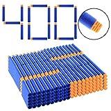 Riva776Yale 400 Stück Foam Dart Refill Bullet for Nerf N-Strike Elite Series Blasters Spielzeugpistole,7.2cm Foam Dart