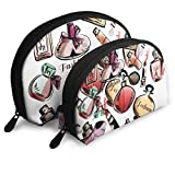 Portable Shell Makeup Storage Bags Makeup Lipstick Lovers Art Travel Waterproof Toiletry Organizer...