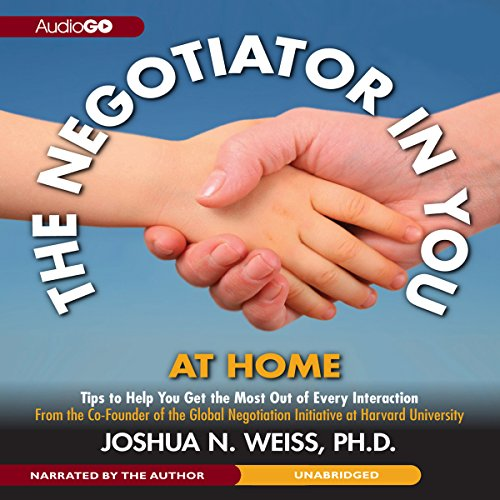 The Negotiator in You: At Home  Audiolibri