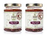 The Borneo Pantry Frasco de Chutney Inglés de Tomates, pimientos rojos y chiles 2 X 200g Elaborada a fuego lento para que conserve mejor los aromas Ingredientes naturales