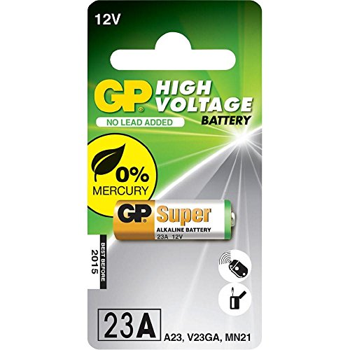 GP Batteries 23AE MN21LRV081Packung (Ultra, Ultra) 12V Ultra 103020(/12) Gp Ultra Alkaline Batterie