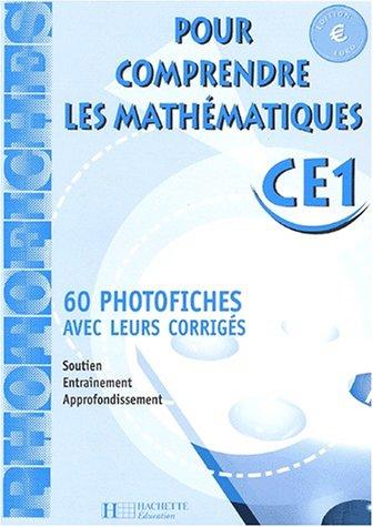 Pour comprendre les mathématiques, CE1, cycle 2 (Photofiches), Euro par Collectif
