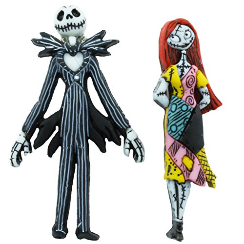 TFB - FUNKY NIGHTMARE JACK SKELLINGTON & SALLY STUD for sale  Delivered anywhere in UK