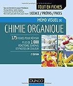 Mémo visuel de chimie organique - 2e éd. de Jacques Maddaluno