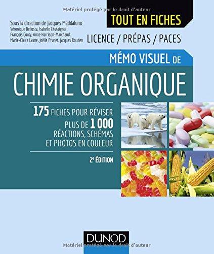 Mémo visuel de chimie organique - 2e éd.
