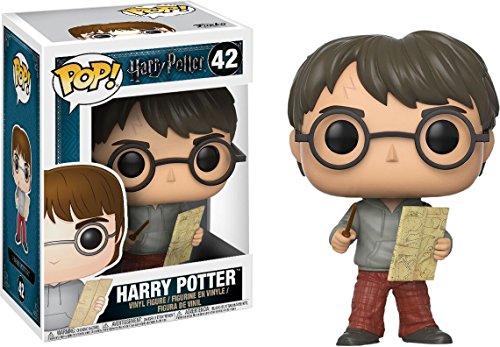 5116SpxtWNL - Funko - POP! Vinilo Colección Harry Potter - Figura Harry con el mapa del merodeador (14936)