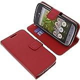 Tasche für Doro 8031 Book Style rot Kreditkarte Schutz