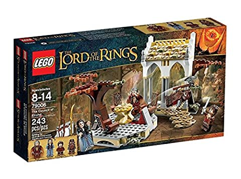 LEGO the Lord of the Ring - 79006 - Jeu de Construction - Le Conseil d