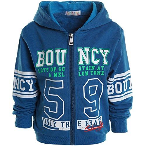 BEZLIT -  Felpa con cappuccio  - Camicia - Collo a U  - Maniche lunghe  - ragazzo Blau 6 anni