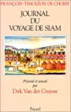 Journal du voyage de Siam