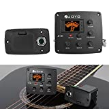 Docooler JOYO JE-305 Acoustic Guitar Piezo Pickup Preamp 4-Band EQ Equalizer Tuner System with LCD Display