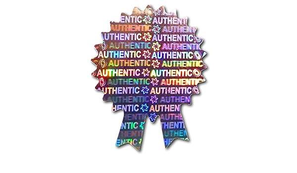 Garantieetikett Original AUTHENTIC Etiketten VOID Silber Garantie Etiketten Hologramm Etiketten 35mm x 28mm Sicherheitssiegel Manipulationsgesch/ütztes ROSETTE Zertifikat Hologramm-Aufkleber