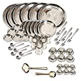 #4: Tulsi Stainless steel - Dinner set of 50Pcs