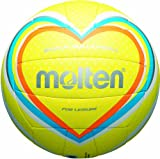 Molten Ballon de beach volley Taille 5 Jaune/Bleu/Orange