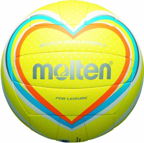 Molten - Balón de volley playa multicolor gelb/blau/orange Talla:5