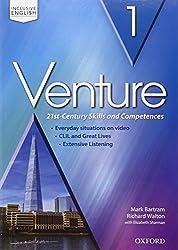 Venture: standard. Student book-Workbook. Per le Scuole superiori. Con CD Audio. Con espansione online: 1