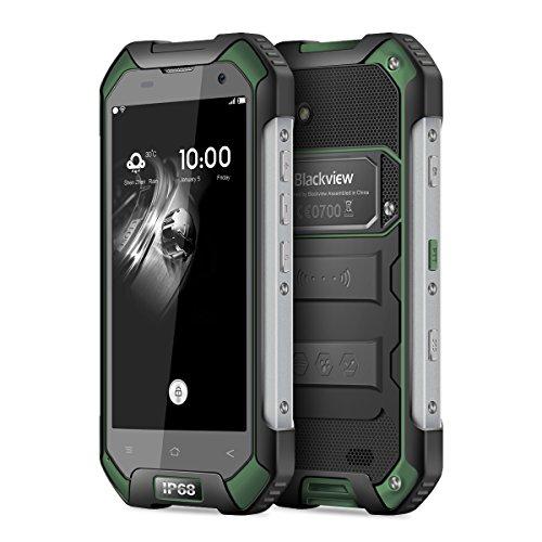 Blackview BV6000 - IP68  4G Android 7 0 Smartphone  Dual SIM   C  mara 13 MP  4 7 HD pulgadas  3GB RAM 32GB ROM  4500mAh Bater  a  Tel  fono m  vil al