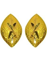 Joyalukkas 22KT (916) Yellow Gold Drop Earrings for Women (BN11198357)