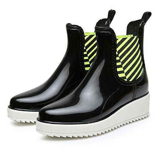 5116cI tQkL BEST BUY UK #1Fashion shoes anti skid Rain boots , black , 38 price Reviews uk