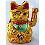 Gato o dinero de la suerte chino rmaneki - the Orient - al igual que el uno aprendiz