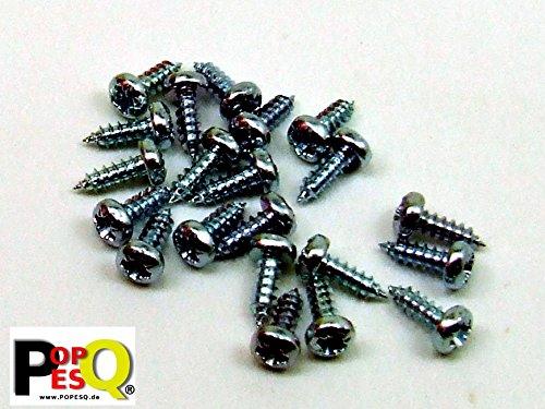 STK. 20 x Schrauben 2.2mm x 6.5mm Screws 2,2mm x 6,5 mm #A322