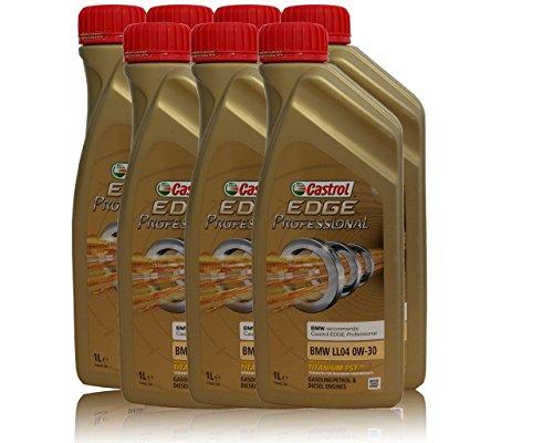 7x1 LiterCastrol EDGE Professional 0W-30 BMW LL04, Longlife 04