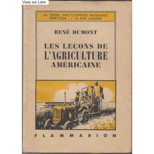 Les leçons de l'agriculture américaine