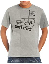 Touchlines That's my Spot The Big Bang Theory T-shirt