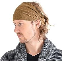 0ae420282 Casualbox Lino Cabeza Banda Bandana Natural Elástico Hairband Deportes Moda  Envolver