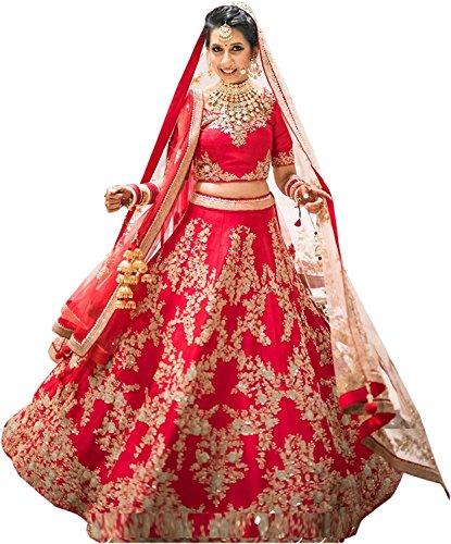 ShreeBalaji Creation Women's Taffeta Silk Dress Material (Sbl-Loy-01-12_Multicolor_Free Size)