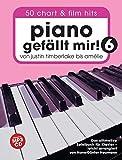 Piano gefällt mir! 50 Chart und Film Hits - Band 6 (Book & CD): Songbook, Bundle, CD für Klavier